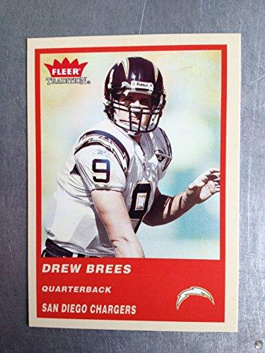 2004 Fleer Tradition Football 58 Drew Brees NM/M (Near Mint/Mint)