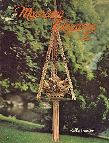 Elegance Pattern (Macrame Elegance V: 1970s Plant Pot Hanger Globe Hangers Lamps)