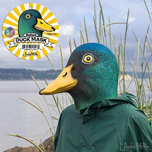 Archie McPhee Mallard Duck Mask -