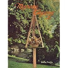 Macrame Elegance V: 1970s Plant Pot Hanger Globe Hangers Lamps