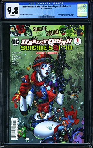 Harley Quinn and The Suicide Squad Special Edition #1 - CERTIFIED CGC 9.8