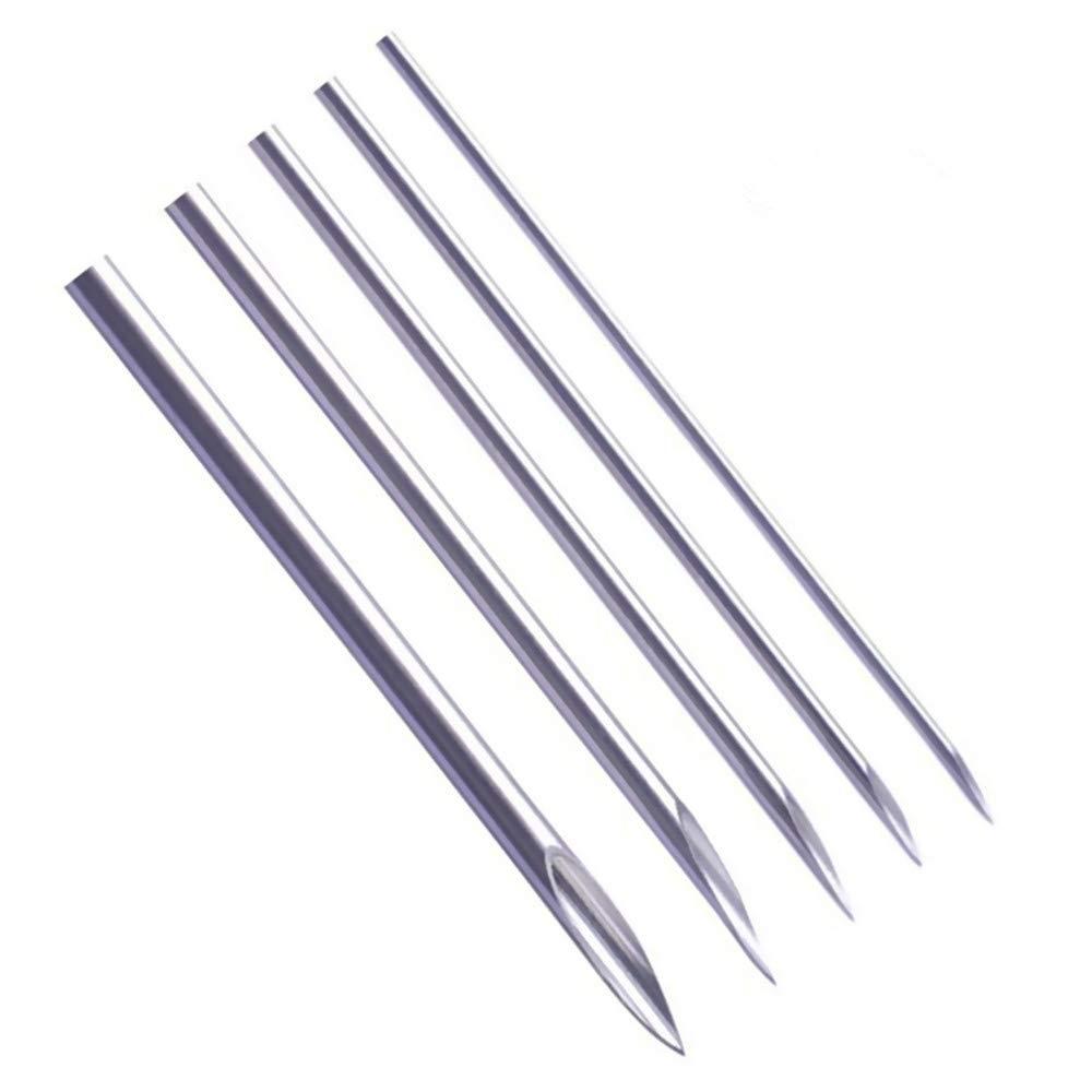 Amazon Com Ear Nose Piercing Needles Yuelong 50pcs Mixed Body