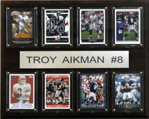 C&I Collectables NFL Dallas Cowboys Troy Aikman 8 Card ()