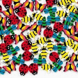 Fun Express - Mini Insect Erasers (1-Pack of