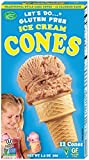 vegan ice cream cones - Let's Do Gluten Free Ice Cream Cones, 12-Count Cones (Pack of 12)