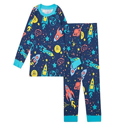 - Gentle Organics 100% Organic Cotton Boys Pajamas 2 Piece Pajama Sets - 100% Organic Cotton (Infant/Toddler)