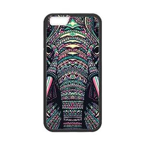 Aztec Elephant Personalized Case foriphone 5s Customized Aztec Elephant Case