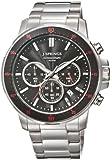 J. Springs - BFC001 - Montre Homme - Quartz Chronographe - Aiguilles lumineuses/Chronomètre - Bracelet Acier Inoxydable Argent