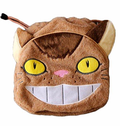 rare Schultertasche Tasche Shoulder Bag Rucksack reisetaschen Katze Augen Plush totoro new