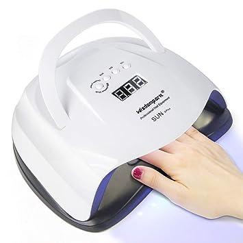 Amazon.com: Wisdompark Lámpara de secado de uñas de 54 W ...