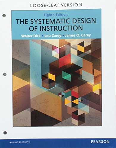 Systematic Design of Instruction, The, Pearson eText -- Access Card