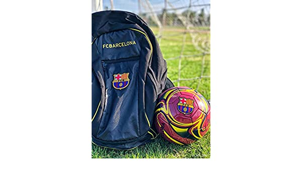 ... + Barca Soccer Ball Size 5 Official Licensed Soccer Gift for Kids, Players, Trainers, Coaches - La Liga Futbol Espanol Mochila : Sports & Outdoors