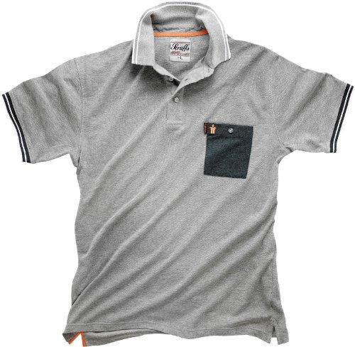 Scruffs Worker Polo Grey S