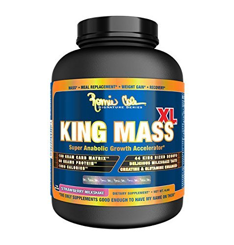 Milk Anabolic (Ronnie Coleman Signature Series, King MASS-XL Super Anabolic Growth Accelerator, Strawberry Milkshake, 6 Pound by Ronnie Coleman Signature Series)
