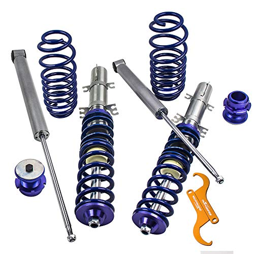 Coilovers Suspension for VW Golf MK4 1998-2003 / Jetta MK4 1998-2004 / Audi A3 MK1 / New Beetle 1997-2010 - Blue