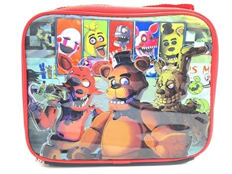 Amazon.com: Five Nights At Freddys Lunch Bag FNAF Snack Bag ...