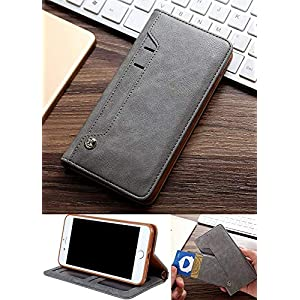 Grip D Case for Realme 8 Flip Cover Wallet Series | Inside TPU with Card & Cash Pockets & Stand | Magnetic Closure…