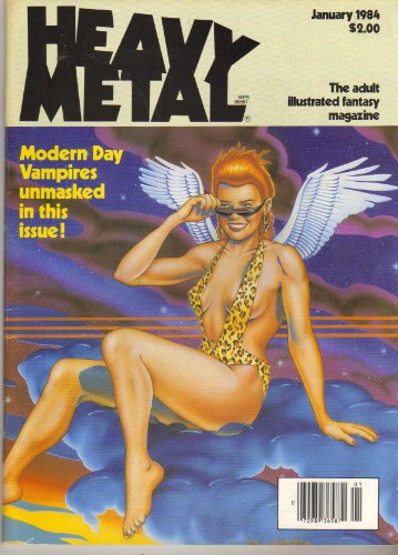Heavy Metal Magazine, January 1984, Vol. VII, No. 10