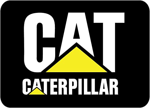 "Amazon.com: Caterpillar CAT Logo 4"" to 14"" with Black, White or ..."