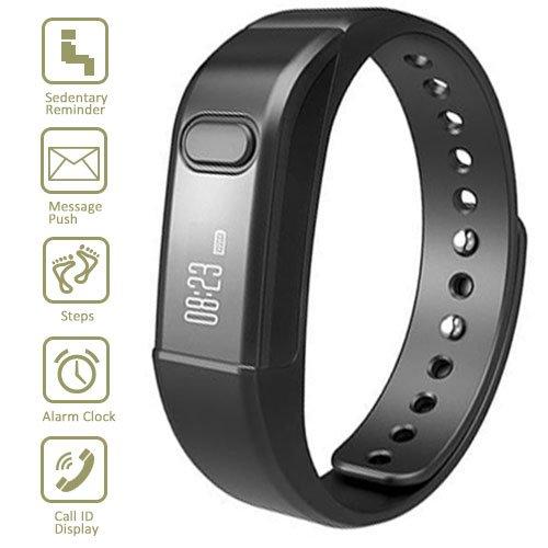 Fitness Tracker Smart Bracelet, Vcall Waterproof Bluetoot...