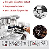 ACKLLR Coffee Grinder Cleaning Brush, Heavy Wood