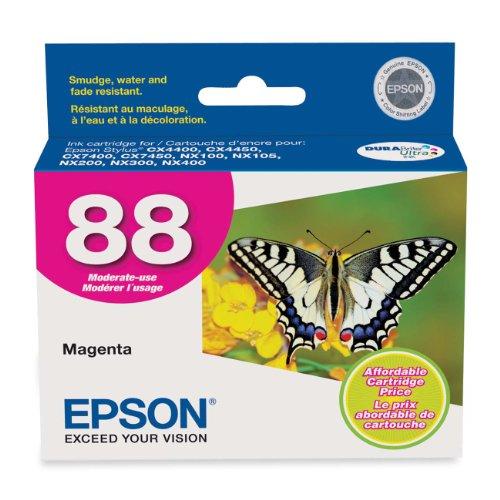 Epson 88 Series DURABrite Ultra Magenta Ink Cartridges (T088320)