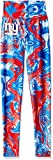 Zubaz NFL New York Giants Women's Swirl Leggings, Multicolor, X-Small