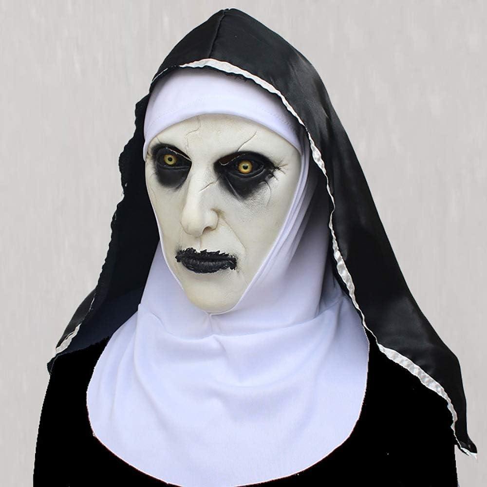 Dyljyf Máscara de Halloween Horror Miedo Fantasma Femenino Tricky ...