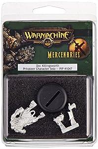 Privateer Press - Warmachine - Mercenary: Doc Killingsworth Model Kit