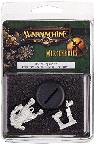 Privateer Press - Warmachine - Mercenary: Doc Killingsworth Model Kit 4