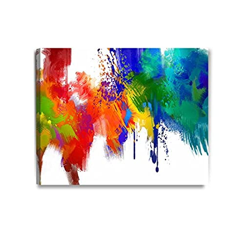 colorful abstract art amazon com