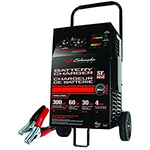Schumacher SF-8050-1 6/12V Manual Wheel Battery Charger with Engine Start