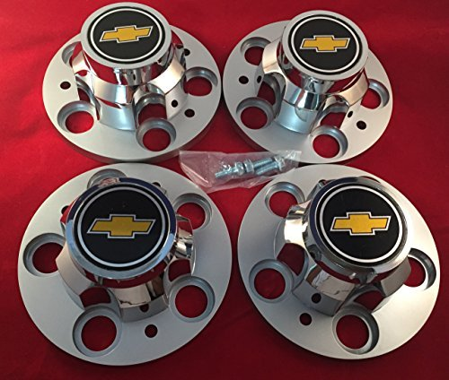 "CHEVROLET CHEVY GMC TRUCK 5 LUG 15"" 15x8 15x7 RALLY WHEEL CENTER HUB CAPS NEW"