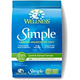 Wellness Simple Natural Dry Limited Ingredient Dog Food, Lamb & Oatmeal, 10.5-Pound Bag