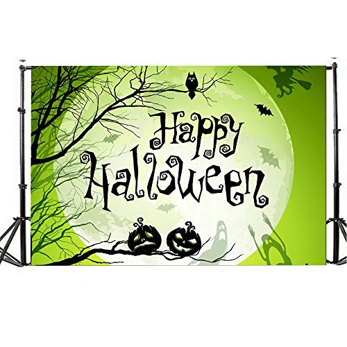 Wensltd Clearance! Halloween Backdrops 5x3FT Lantern Background Photography Studio Decoration (C) ()