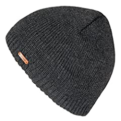 LETHMIK hats collection. LETHMIK Fleece Lined Beanie Hat Mens Winter Solid Color Warm Knit Ski Skull Cap; One Size Fits MOST, Skull and Cosy Fit.  Comfortable and high quality hat material, provides Comfort, Warmth and excellent elasticity, S...