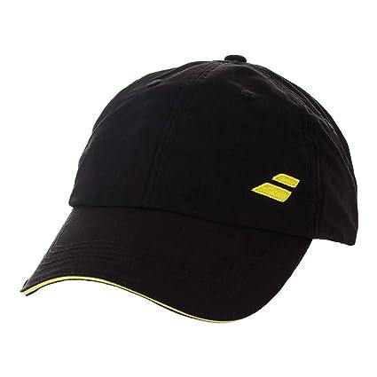 a222eb68cd2 Amazon.com  Babolat Basic Logo Cap-One Size Fits All-Black  Sports ...