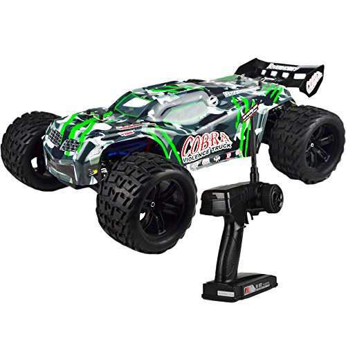 Rear Truggy Wing (FullfunRC Electric Cobra EBD RC Truck with 2.4GHz Radio,8.4V Vehicle Battery and Charger Included (1/8 Scale))