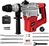 MPT 1 Inch SDS-plus 8.5 Amp Heavy Duty Rotary Hammer Drill,3 Function and Adjustabl Soft Grip Handle,Include 3 Drill Bits,Point and Flat Chisel with Case Review