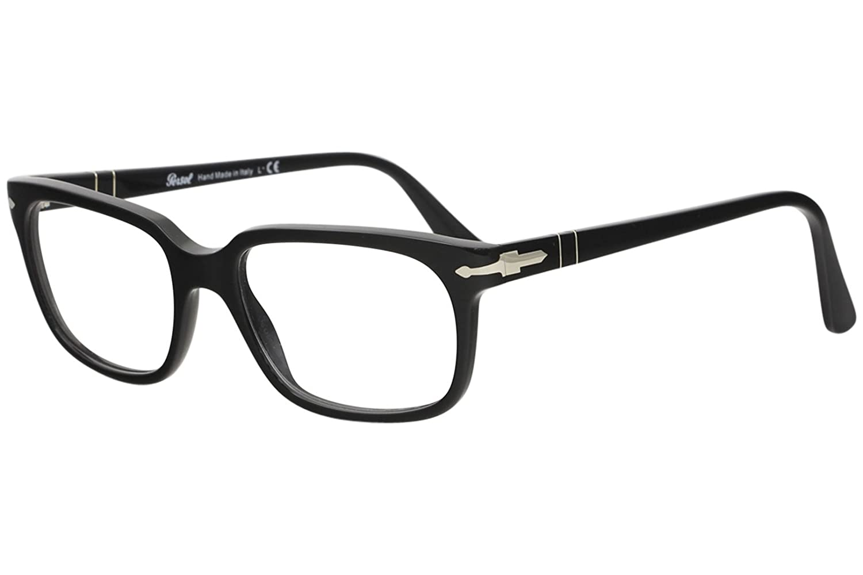 eb54e01655e4b PERSOL Eyeglasses PO 3131V 95 Black 54MM  Amazon.ca  Clothing   Accessories