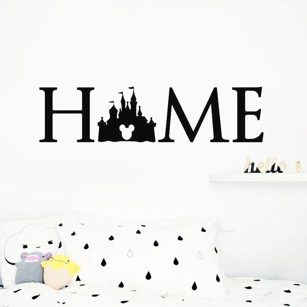 etiqueta de la pared decoración Etiqueta de la pared de Mickey ...