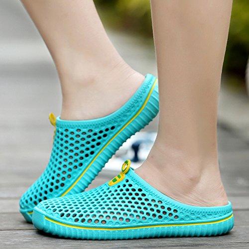 Clogs Quick Lightweight Garden Non Slippers Slip Shoes Men Sandals Green Dry Walking Women qECwYET