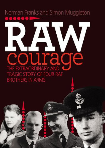 Read Online Raw Courage: The Extraordinary and Tragic Story of Four RAF Brothers in Arms (Fictional Characters and Real Events) PDF