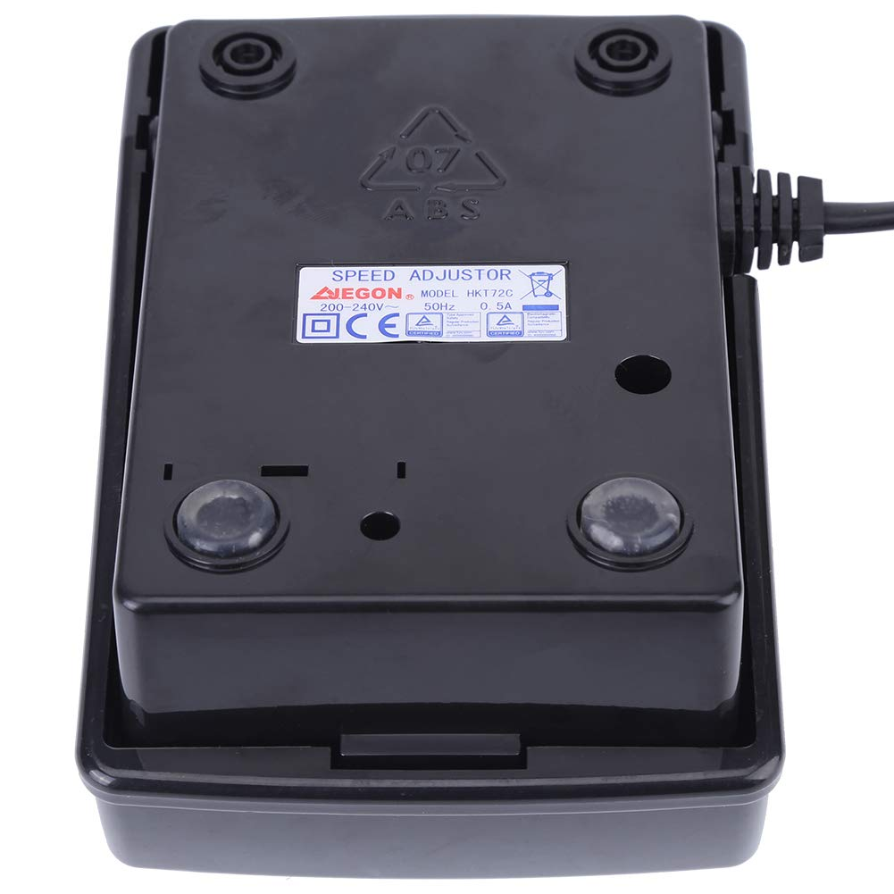 EU-Stecker N/ähmaschine Fusspedal Praktische N/ähmaschinenteil mit Netzkabel Passend f/ür Feiyue Asixx Fu/ßpedal Controller