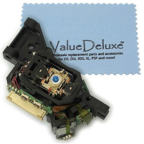 ValueDeluxe HOP-141X HOP-141B HOP-14XX DVD Laser Lens for XBOX 360 BenQ LITE-ON DG-16D2S with ValueDeluxe Microfiber cloth
