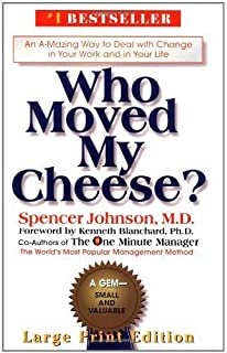 moral of who moved my cheese