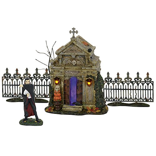 (Department 56 Accessories for Villages Halloween Rest in Peace 2017 Accessory Figurine, 5.98 inch)