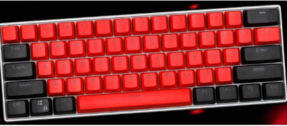 Six6 61 Teclas 60% Teclado Mecánico Keycaps PBT OEM Perfil ...