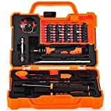 Anseahawk Professional Precision Screwdriver Set (45 in 1) Repair Tools Kit for Smartphone Tablet Laptop Computer Electronics fit iPhone, iPad, Samsung Galaxy/Tab, HTC, LG, OnePlus and More