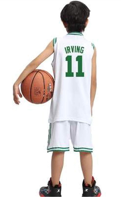 Formesy Camiseta Baloncesto niño/Basketball Jersey Set para Unisex - # 23 Lakers James / # 13 Rocket Harden / #11 Celtic Irving Traje De Baloncesto De ...